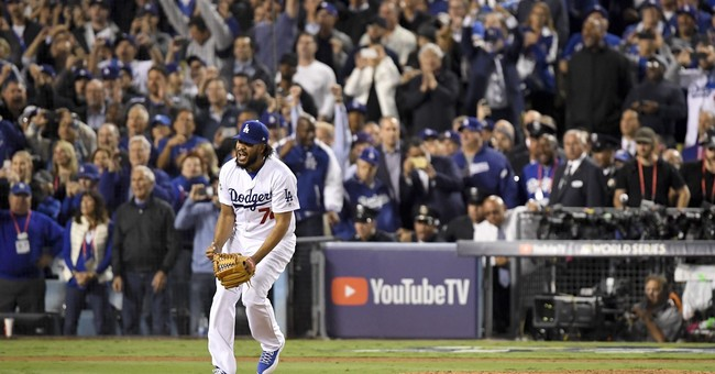 All those wins add up: Under new rule, Dodgers host Game 7