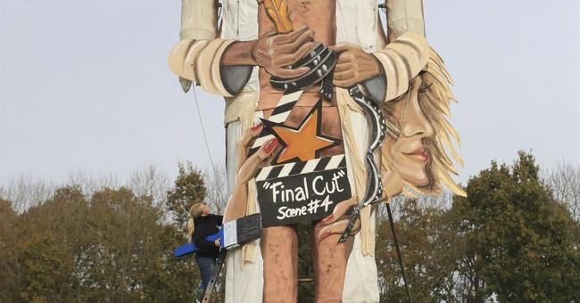 UK town to burn Harvey Weinstein in effigy on Bonfire Night