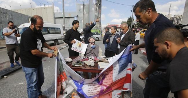Century-old declaration hardens Israeli-Palestinian rift