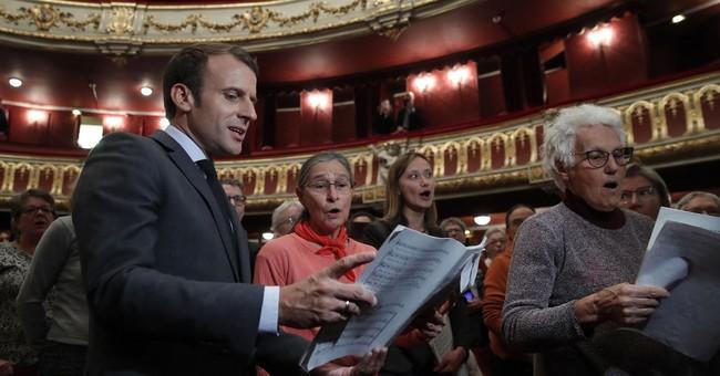 French president pens birthday poem for British teen