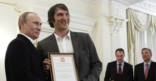 Capitals' Alex Ovechkin voices support for Vladimir Putin