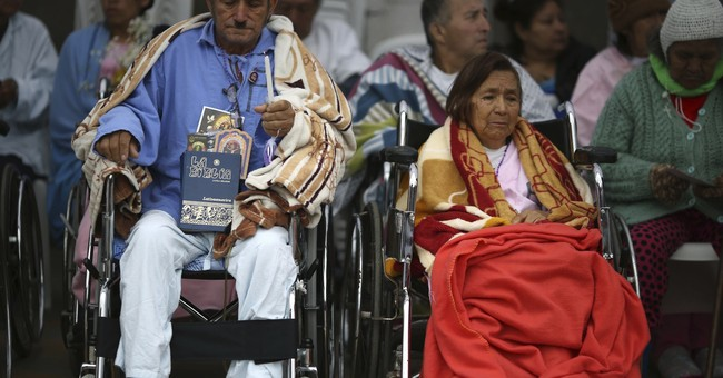 AP PHOTOS: Peru venerates Lord of Miracles in big procession