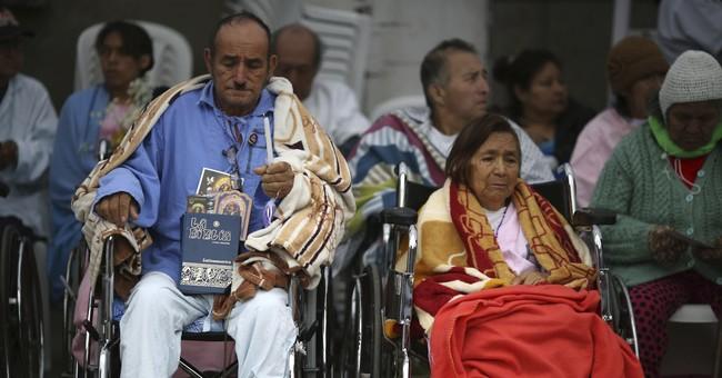 AP PHOTOS: Peru venerates Lord of Miracles in big procession
