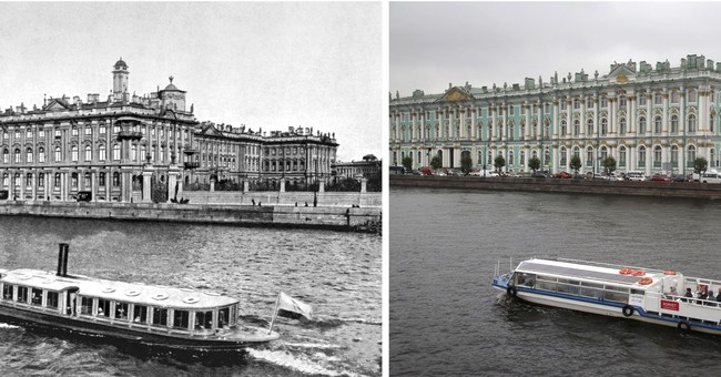 How Russia looked during 1917 revolution _ and now