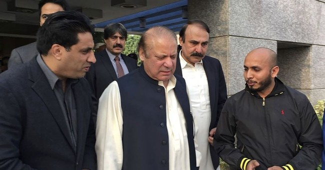 Pakistan's former PM appears before in court to face charges