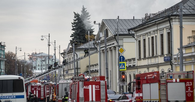 Fire at Moscow's art museum causes no damage to collections