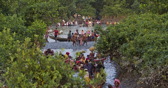 UN condemns violence in Myanmar forcing Rohingyas to flee