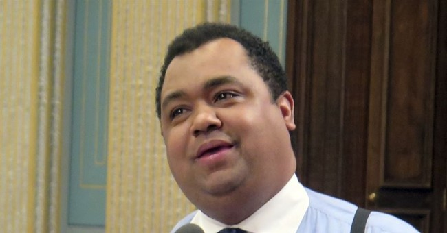 Son of Detroit's 1st black mayor takes on popular incumbent