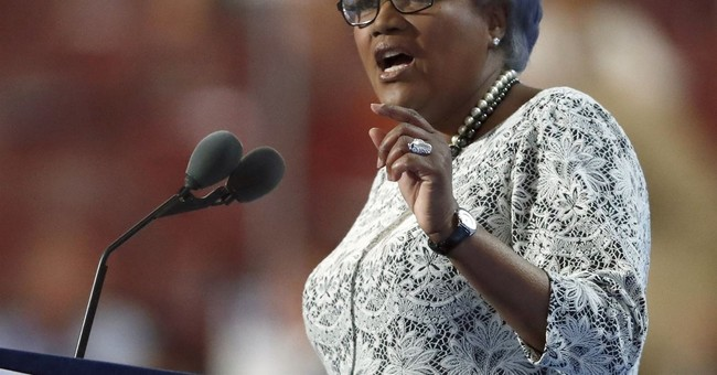 Brazile says she considered replacing Clinton with Biden