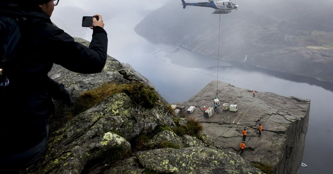 """""""Mission Impossible"""" to shoot at famed Norway tourist site"""