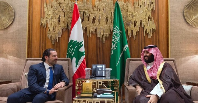 Amid intrigue, Saudi king receives Lebanon's outgoing PM