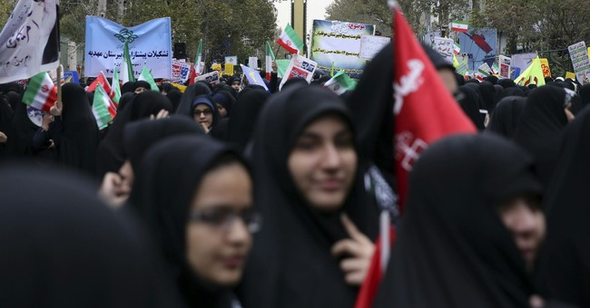 Iran displays missile during anniversary of embassy takeover