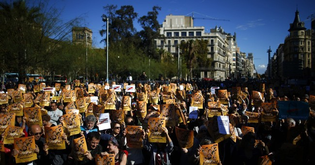 Catalan Five get conditional freedom in Belgium