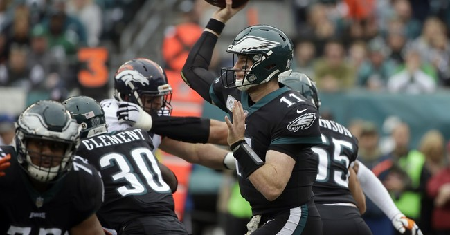 NFL HALFWAY: Wentz, Goff exceed expectations in Year 2