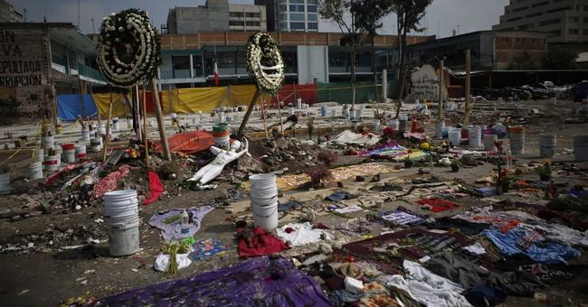 Mexico City plans quake memorial at collapsed building site