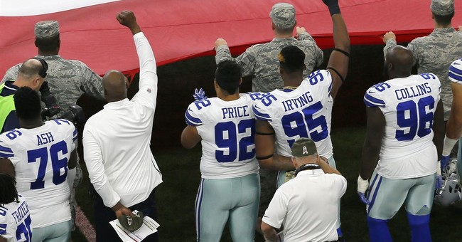 About 18 players protest during national anthem