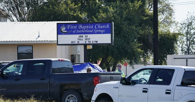 "The Latest: Trump calls Texas church shooter ""deranged."""