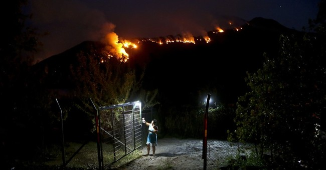 AP PHOTOS: Chile continues to battles its worst wildfires