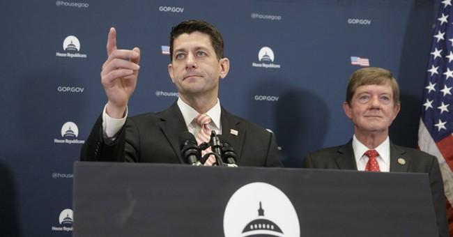 Speaker defends Trump ban as veep addresses GOP concerns
