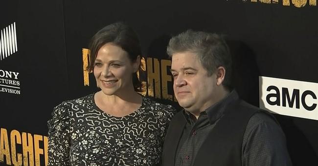 Comedian Patton Oswalt marries actress Meredith Salenger