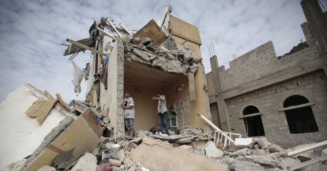 The Latest: UN calls for aid to be allowed into Yemen
