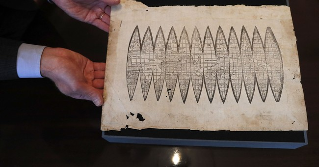 AP Exclusive: Oldest map to use word 'America' up for sale
