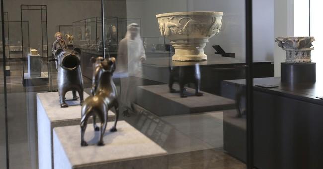 AP PHOTOS: A walk through the new Louvre Abu Dhabi