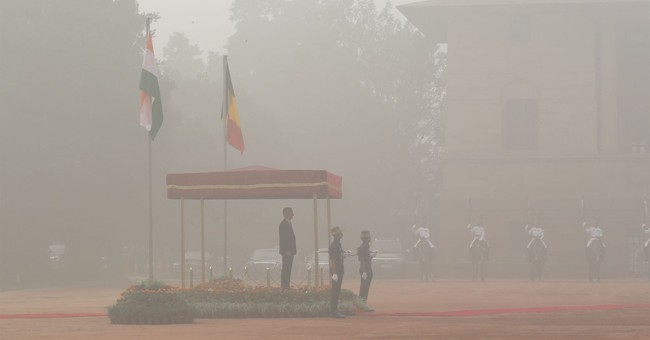 Severe pollution hits Indian capital, causing health worries