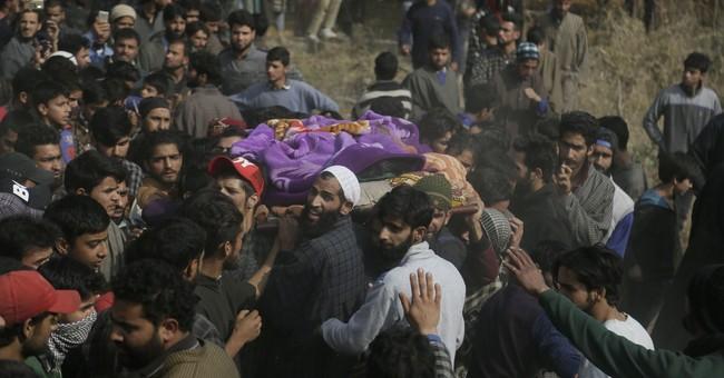 3 militants, Indian soldier killed in Kashmir fighting