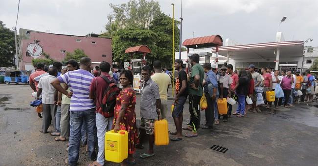 Sri Lanka's gasoline shortage continues
