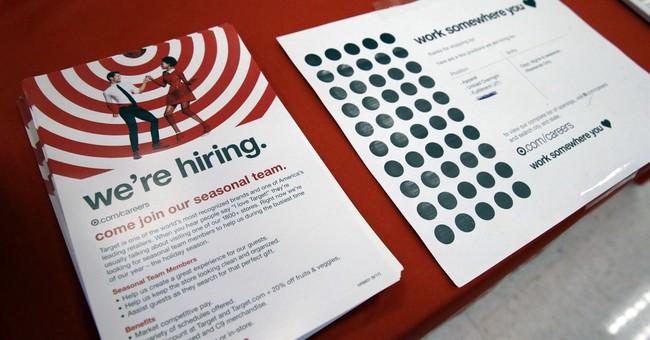 US job openings flat in September as hurricanes slow hiring