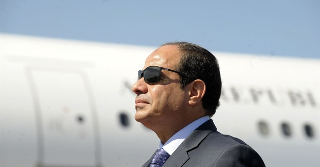 Egypt's president says he supports term limits