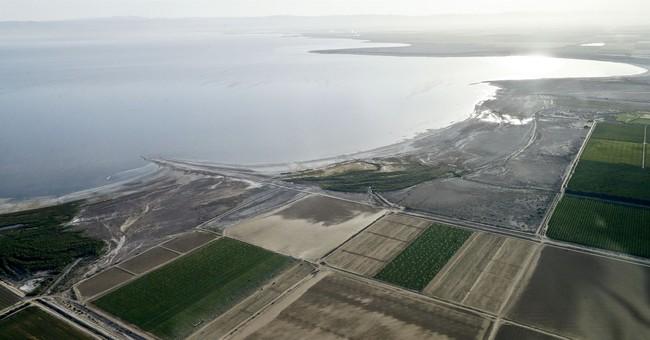 California approves rescue plan for shrinking Salton Sea