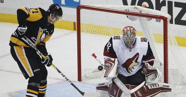 Penguins spoil Tocchet's return in 3-1 victory over Coyotes