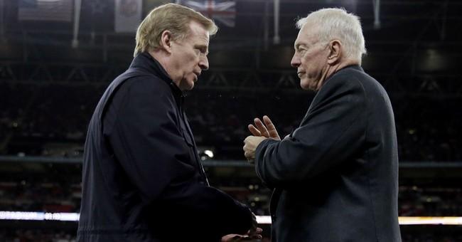 AP source: Jones threatens Goodell deal after Elliott ban