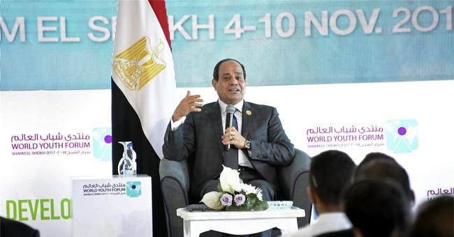 "Egypt's el-Sissi warns Iran to stop ""meddling"" in region"