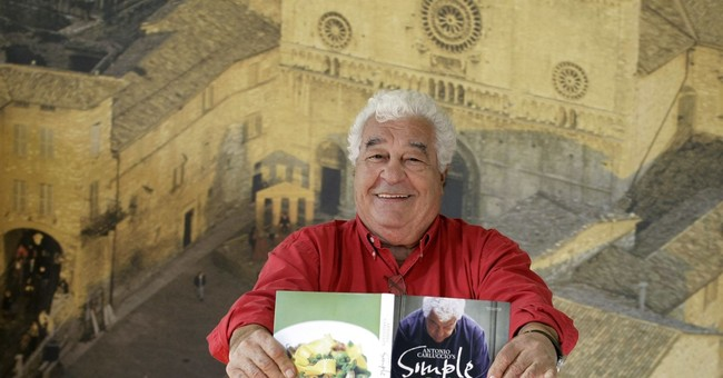 Celebrity chef and author Antonio Carluccio dies at age 80