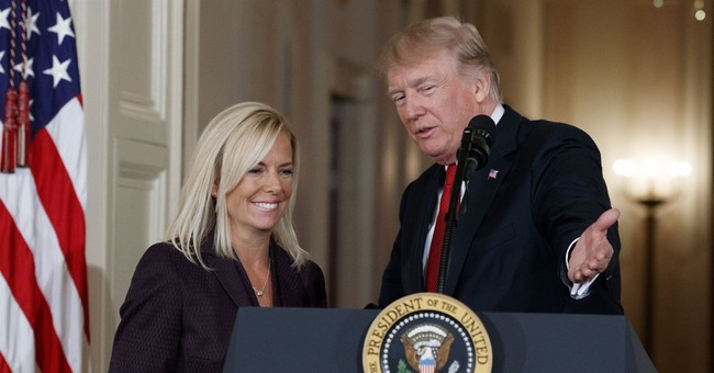 Senate panel approves Trump choice to lead Homeland Security