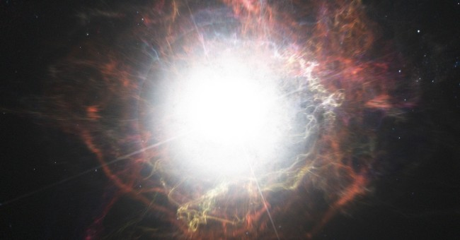 Stellar encore: Dying star keeps coming back big time