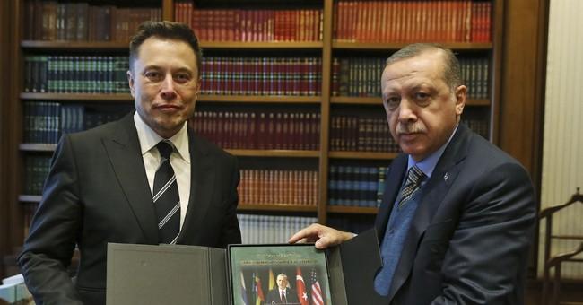 Tesla and SpaceX chief Elon Musk meets Erdogan in Turkey