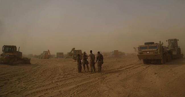 As caliphate crumbles, US builds outposts in western Iraq