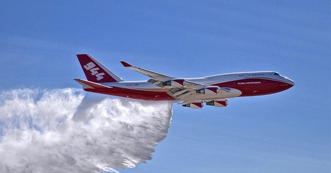Jumbo air tanker wins protest, may fight more US wildfires