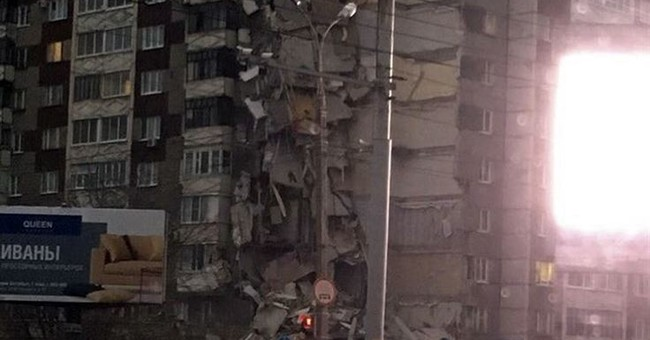 3 killed as apartment building collapses in Russia