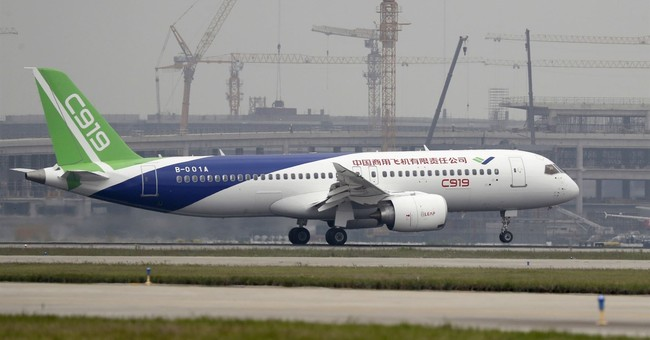 China's new passenger jet finishes first long-haul flight