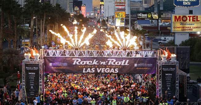 After massacre, Las Vegas police beef up marathon security