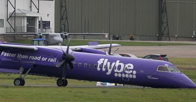 Plane circles Belfast to burn fuel, makes emergency landing
