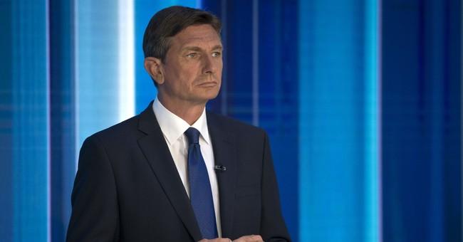 The Latest: Slovenia's president applauds voters' faith