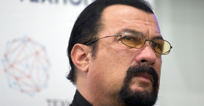 The Latest: Jenny McCarthy says Steven Seagal harassed her