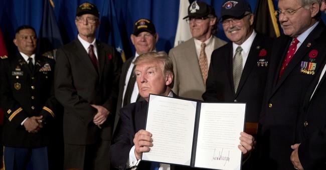 AP FACT CHECK: Trump hails 'new' VA as old problems persist