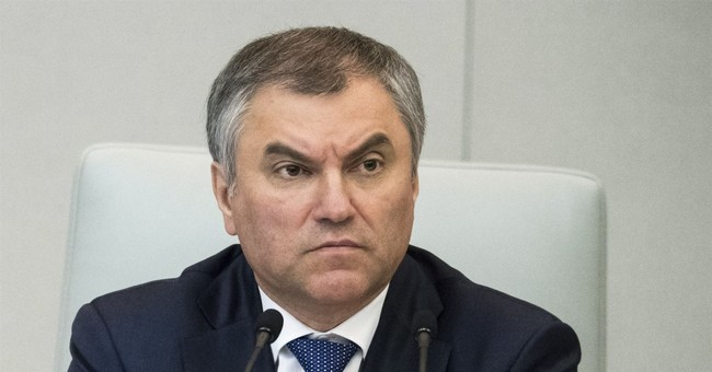 Russian parliament mulls response to US move on broadcaster